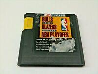 Bulls Vs.Blazers And The NBA Playoffs (Sega Genesis) Cartouche Seulement K45