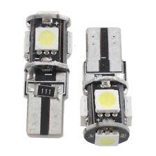 2 CANBUS T10 W5W 194 BOMBILLA LUZ LED 12V 5 SMD COCHE H5C5