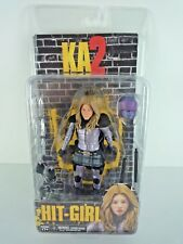 "KICK ASS 2 / HIT GIRL UNMASKED 6"" NECA ACTION FIGURE WITH ACCESSORIES NEW SEALED"