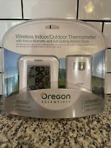 wireless indoor outdoor thermometer Oregon Scientific