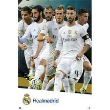 Real Madrid Football Posters
