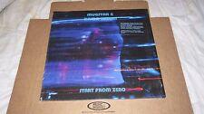 MUGSTAR & DAMO SUZUKI - 'START FROM ZERO' RARE 33RPM VINYL LP LTD EDITION OF 500