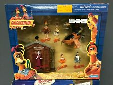 Chicken Run Rocky Ginger Fowler Mac Mrs Tweedy Figures Playmates Set No 40283