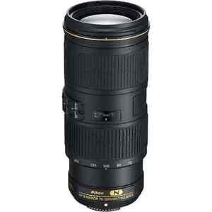 NIkon AF-S 70-200mm f/4 G ED VR Lens