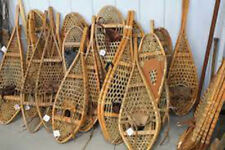 Lot Of 10 Pairs Of Antique Vintage Snowshoes For Decor Or Arts & Craft Free Ship