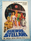 "RARE!Star WarsITALIAN MOVIE POSTER""GUERRE STELLARI""Vintage 1977OVERSIZE"