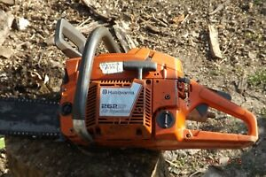 husqvarna 262 xp chainsaw