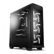 DAVEN Mid Tower A540 ATX Full Acrylic Window Computer Case USB 3.0 / 2.0