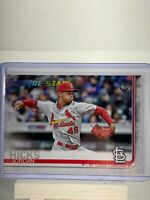 Jordan Hicks 2019 Topps Series 1 Vintage Stock Parallel 02/99 Cardinals
