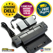 Dell Docking Station E-Port Plus Replicator PR02X M2800 M4800 M6800M + AC PA-4E