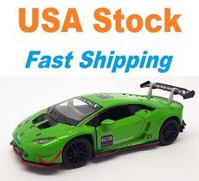"Lamborghini Huracan LP620-2 Super Trofeo, Kinsmart, Diecast Toy Car, 5"", 1:36"