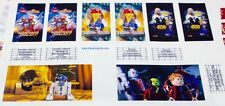 Stickers 4 LEGO 10232 Cinema Theater Guardians of the Galaxy Star Wars
