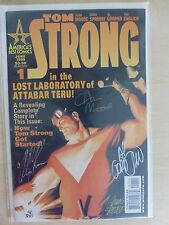 "Tom Strong Issue 1 ""Dynamic Forces Variant"" Signed By Alan Moore, Chris Sprouse"