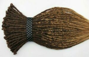 Ombre Brown Crochet Synthetic Dreads, 20 Inches, DE & SE, Dreads, Natural Hippie