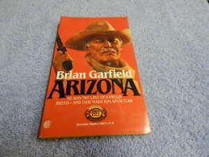 Arizona by Brian Garfield (1980, Pocket Paperback)