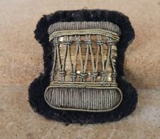 British Army Drummers Bullion patch badge 5 x 5 cm