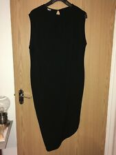 ASOS Maternity column dress, with drapery detail and asymmetric hem UK 18 BNWT