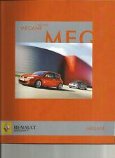 RENAULT SPORT MEGANE 2 RS - 2006 / catalogue brochure prospekt