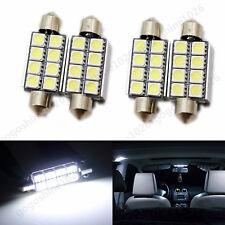 4Pcs 42mm 8SMD 5050 Canbus LED Car Dome Interior White Light Festoon Bulb Lamp