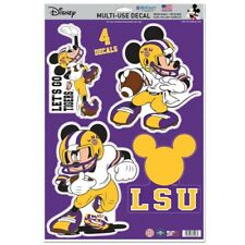 Lsu Tigers Let'S Go Tigers Mickey Mouse Laptop Multi Use Reusable Decals