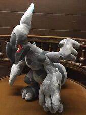 """RARE Large 12"""" Tomy Takara Japan ZEKROM Pokemon Plush giratina reshiram pokedoll"""