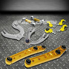 Gold Lower Control Armfrontrear Camberadjuster Suspension Kit 88-91 Civiccrx
