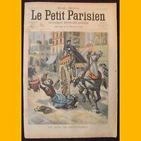 LE PETIT PARISIEN Supplément littéraire illustré Arrestation 13 avril 1902