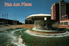 Pan Am Plaza, Indianapolis, Indiana, Sports Arena, Ice Rink, Fountain - Postcard