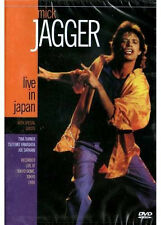 2 DVD lot  MICK JAGGER  LIVE IN JAPAN + KEITH RICHARDS WINOS   ROLLING STONES