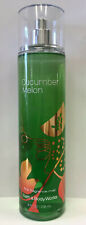 Bath Body Works 3 Classics Cucumber Melon Fine Fragrance Mist Spray 8 Oz 0667537861049