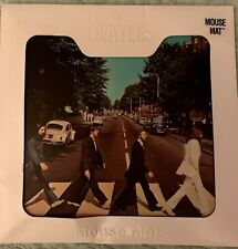 The Beatles Abbey Road Mouse Mat. Collectors Number 24066 By Apple Corp NIB