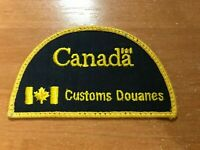 CANADA PATCH NATIONAL CUSTOMS DOUANES - ORIGINAL!