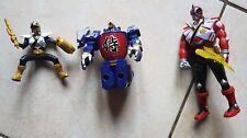 Figurines power rangers super samurai