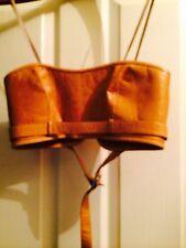 Kaufmanfranco Tan Leather Bustier