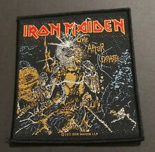 IRON MAIDEN Live After Death Woven Sew On Patch Official Licensed Merch