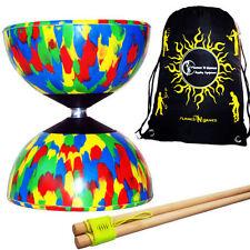 Jeux et activités de plein air jonglages multicolore