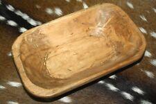 Antique Wooden Dough Bowl For Sale Ebay