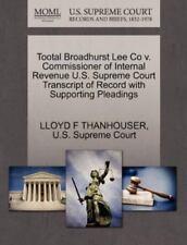 Tootal Broadhurst Lee Co V. Commissioner Of Internal Revenue U.S. Supreme Cou...