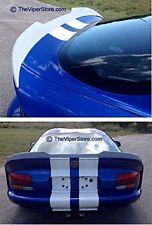 "Dodge Viper GTS 96-02 Rear ""SRT Gen5 Style"" Spoiler FIBERGLASS"