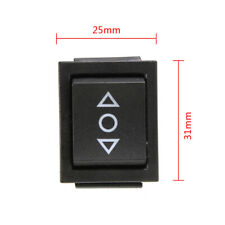 3-Position On-off-On Boat Rocker Switch 6 Pin Double Pole Double Throw 10A 250V
