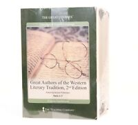 Great Authors of the Western Literary Tradition I-VII (2004, PaperBack/ DVD) NEW