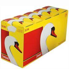 Leo 10 Box NEW SWAN SLIM LOOSE FILTER TIPS 165 TIPS IN EACH PACKS 1650 IN BOX