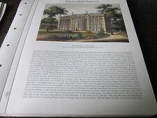 Hannover Archiv 2 Stadtbild 56 Das Palmenhaus im Berggarten 1858 W. Kretschmer