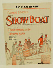 Ol' Man River ~ 1927 ~ Sheet Music ~ Showboat ~ Kern ~ Hammerstein ~ Harms Pub.