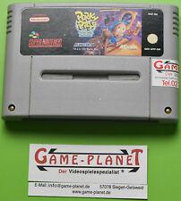 Porky Pigs Haunted Holiday pal Super Nintendo SNES Modul Sammlung