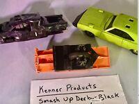 Kenner SSP - Smash Up Derby - Plymouth Roadrunner Super Bird - Lot 3 Cars