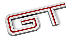 2005-2010 Mustang GT Chrome & Red Fender Trunk Lid Emblem