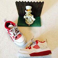 Nike Air Jordan Retro 4 IV Alternate 89 Toddler Boys Shoes 308500-106 10c Nice