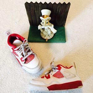 Nike Air Jordan Retro 4 IV Alternate 89 Toddler Boys Shoes 308500-106 10c Nice