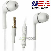 3.5mm In-ear Headset Earphone Headphone Mic For Samsung Galaxy S5 S6 Note4 New #